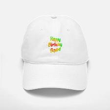 Happy Birthday Squirt Baseball Baseball Cap