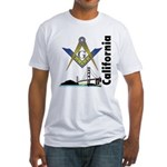 California Freemasons Fitted T-Shirt