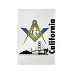 California Freemasons Rectangle Magnet (100 pack)