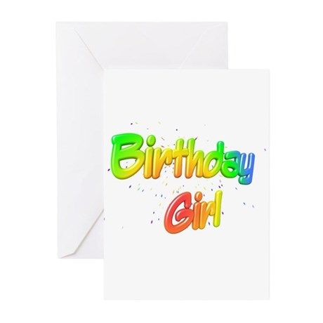 Birthday Girl Greeting Cards (Pk of 20)