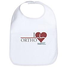 I Heart Ortho - Grey's Anatomy Bib