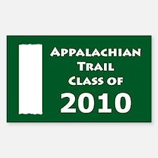 Appalachian Trail Class Of 2010 Decal