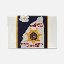 Rankin County Sheriff Rectangle Magnet