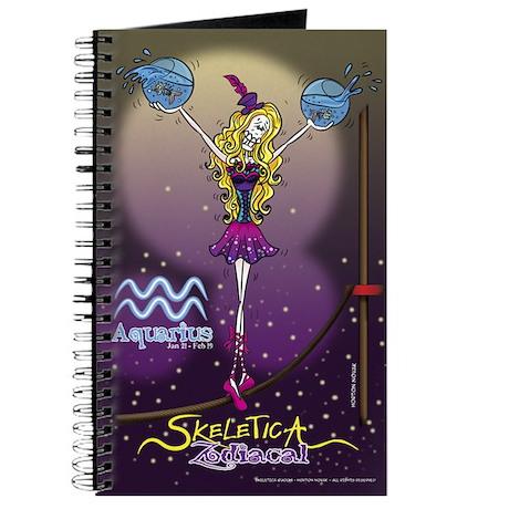 Aquarius - Skeletica Zodiacal Journal