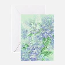 Summer Ballerina Fairy Greeting Card