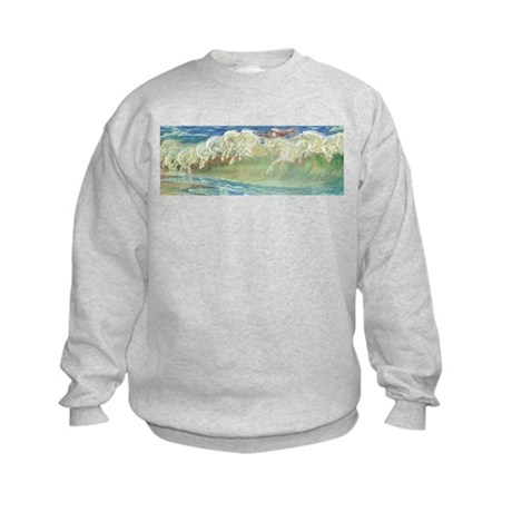 NEPTUNE'S HORSES Kids Sweatshirt