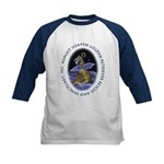 Golden Retriever Angel Kids Baseball Jersey