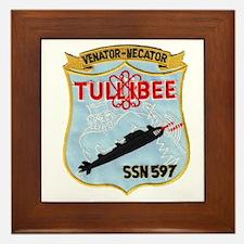 USS TULLIBEE Framed Tile