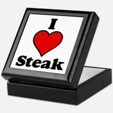 I heart Steak Keepsake Box