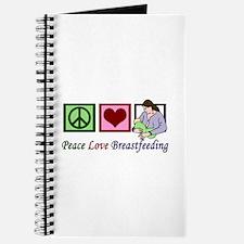 Peace Love Breastfeeding Journal