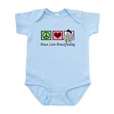 Peace Love Breastfeeding Infant Bodysuit