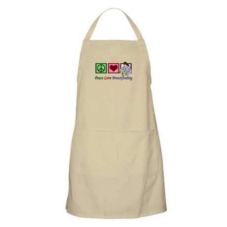 Peace Love Breastfeeding Apron