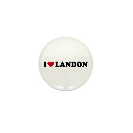 I LOVE BOYS ~ Mini Button (10 pack)