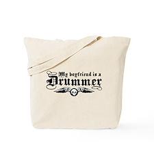 My Boyfriend Is A Drummer Tote Bag