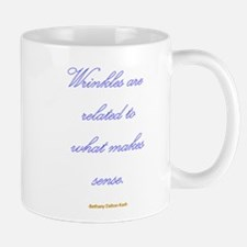 Wrinkles are related to what Mug