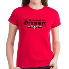 My Husband Is A Drummer Tee