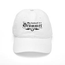 My Husband Is A Drummer Baseball Cap