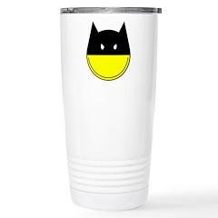 Bat Smiley Travel Mug