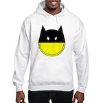 Bat Smiley Hooded Sweatshirt