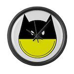 Bat Smiley Large Wall Clock