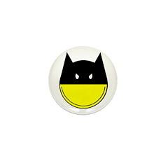 Bat Smiley Mini Button (10 pack)