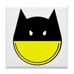 Bat Smiley Tile Coaster