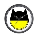 Bat Smiley Wall Clock