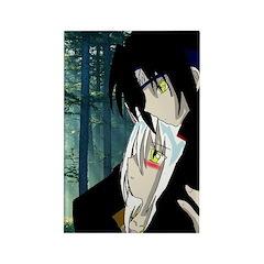 Luke and Zeldah Rectangle Magnet (100 pack)