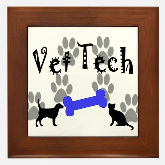 Veterinary Framed Tile