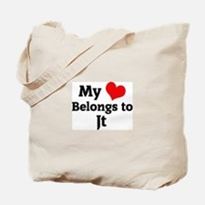 My Heart: Jt Tote Bag
