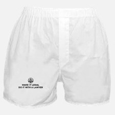 Funny Lawyer Boxer Shorts