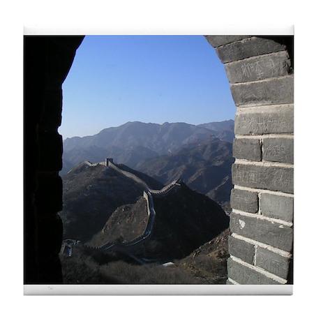 Great Wall of China Tile Coaster
