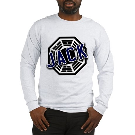 Jack Dharma Logo from LOST Long Sleeve T-Shirt