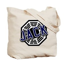 Jack Dharma Logo from LOST Tote Bag