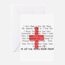 Nursing Student XX Greeting Card