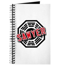 Sawyer Dharma Logo from LOST Journal