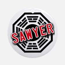 Sawyer Dharma Logo from LOST Ornament (Round)