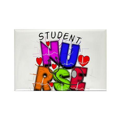 Nursing Student XX Rectangle Magnet