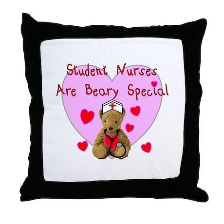 Nursing Student XX Throw Pillow