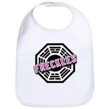 LOST Dharma Initiative Symbol with FRECKLES Bib