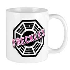 LOST Dharma Initiative Symbol with FRECKLES Mug