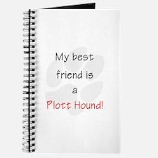 My Best Friend is a Plott Hound Journal