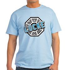 LOCKE Dharma Logo from LOST T-Shirt