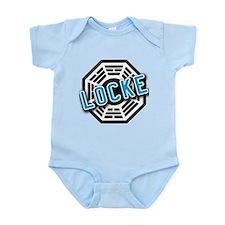 LOCKE Dharma Logo from LOST Infant Bodysuit