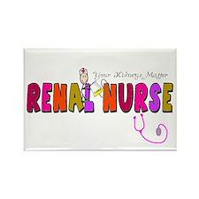 Renal Nephrology Nurse Rectangle Magnet