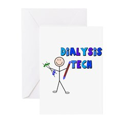 Renal Nephrology Nurse Greeting Cards (Pk of 10)