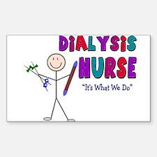 Renal Nephrology Nurse Rectangle Sticker 10 pk)