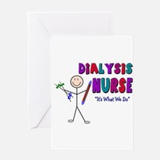 Renal Nephrology Nurse Greeting Card