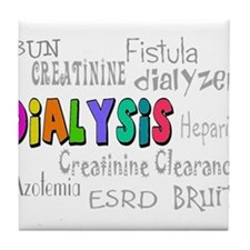 Renal Nephrology Nurse Tile Coaster
