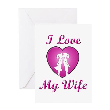 Lesbian Wife - Greeting Card